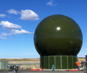 35ft Radome With Ring Wall