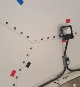 LED Radome Interior Lighting