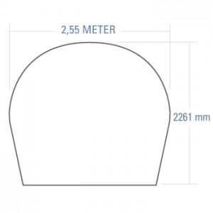 2.55m Radome
