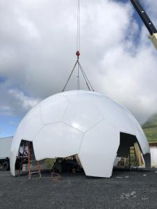 Radome Top Down Assembly